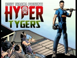 Rohit Sharma Launches Superhero Cricket Graphic Novel Hyper Tygers