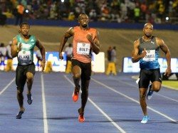 Usain Bolt Wins 100m 9 88 Seconds At Racers Grand Prix