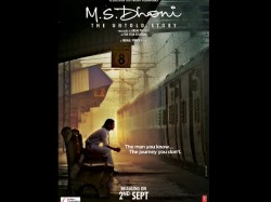 Ms Dhoni Birthday Official Poster Ms Dhoni The Untold Story Unveiled