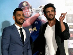 Ms Dhoni Wasn T Happy With Senior Players Reveals Biopic Cricket