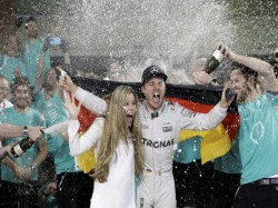 Nico Rosberg Wins F1 Title As Hamilton Wins Abu Dhabi Gp