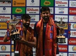 Chennai Open Rohan Bopanna Jeevan Nedunchezhiyan Win Doubles Trophy