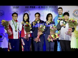 Shooter Jitu Rai Clinches Bronze 10m Air Pistol Event At Issf World Cup