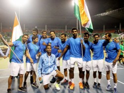 Davis Cup Bopanna Balaji Seal Tie With Doubles Win India