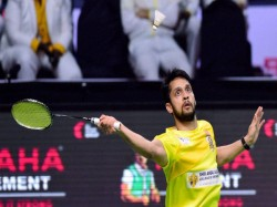 Indian Shuttlers P Kashyap Harsheel Dani Bow Of China Masters