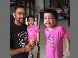 Adorable Pictures Cricketers Their Little Children Light Up Ipl