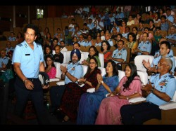 Sachin Tendulkar Conducts Special Screening His Biopic Indian Armed Forces