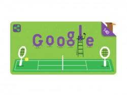 Google Doodle Celebrates 140 Years Wimbledon