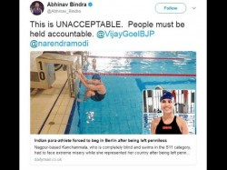 Indian Para Swimmer Forced Beg Germany Sports Minister Seeks Report