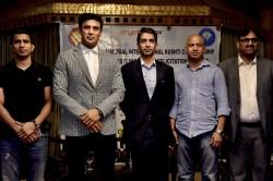 Sangram Singh Launches Kd Jadhav Memorial Wrestling Championship