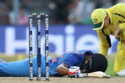 Watch Hardik Pandya Gets Nasty Blow On The Field Escapes Unhurt