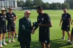 R Ashwin Shines On County Debut Worcestershire Grabs Eight Wickets