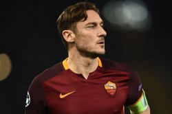 Football Great Totti Tries His Luck With Bikes