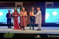 Wrestler Sangram Singh Introduces Special Awards Felicitate India Grapplers