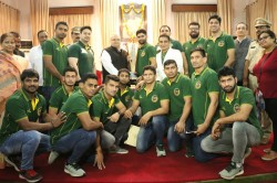 Three Time Champs Patna Pirates Return Home A Warm Reception