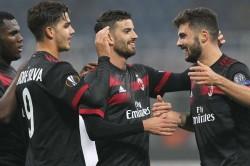 Ac Milan 5 Austria Wien 1 Andre Silva Sends Montellas Men Through To The Last