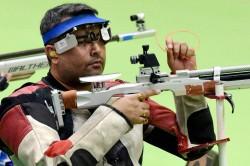 Gagan Narang Wins Silver Commonwealth Shooting Championships