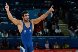 Sushil Kumar Cynosure All Eyes At Wrestling Nationals