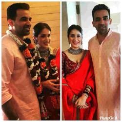 Zaheer Khan And Sagarika Ghatge Tie Knot