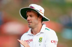 De Villiers Troublesome Back Test South Africa