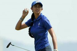 Aditi Opens With 1 Under Lies 29th Dubai