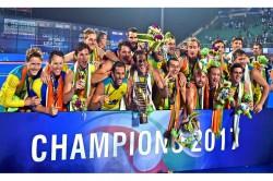 Clinical Australia Beat Argentina 2 1 Defend Hwl Final Title