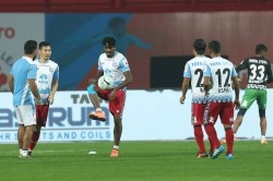 Isl Jamshedpur Fc S Solid Defence Ready Face Leaders Chennaiyin