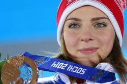 Banned Russian Athlete Wins European Skeleton Gold