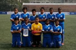 Saff U 15 Championship India Girls Outclass Bhutan Opener