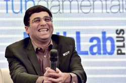 Anand Relieved After Winning First Rapid Title Since
