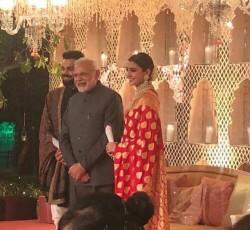 Virat Kohli Anushka Sharma Host Reception Delhi Pm Narendra Modi Attends
