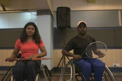 Wheelchair Tennis Players Call Support As Third Ever Tournament