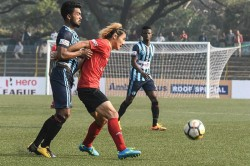 East Bengal Stage Fight Back Draw With Minerva Punjab I League Katsumi Yusa