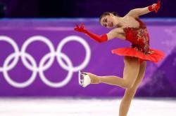 Winter Olympics Pyeongchang Zagitova Figure Skating Russia Oar
