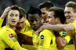 Borussia Monchengladbach 0 Borussia Dortmund 1 Reus Returns To Haunt Foals