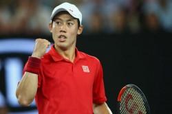 Kei Nishikori Kevin Anderson Sam Querrey New York Open Atp Tennis