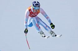 Winter Olympics 2018 Lindsey Vonn Alpine Skiing Womens Downhill Video Breezy Johnson