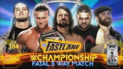 Ziggler Corbin Added Wwe Fastlane Ppv Main Event