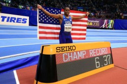 Iaaf World Indoors Championships World Record Holder Coleman 60m Title