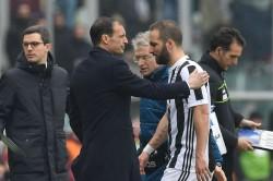Allegri Unsure Over Higuain Facing Lazio Or Spurs