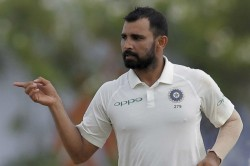 Bcci Withholds Central Contract For Mohammed Shami