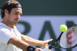 Federer Cruises At Indian Wells Thiem Retires Hurt