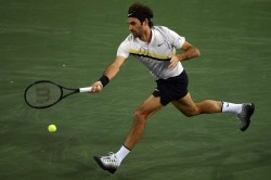 Indian Wells Masters Roger Federer Powers Past Hyeong Chung