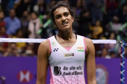Cwg 2018 Badminton Pv Sindhu Suffers Injury Scare