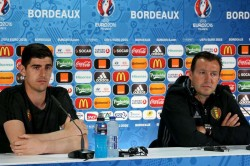 Thibaut Courtois Father Sue Marc Wilmots Belgium