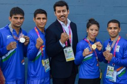 Cwg 2018 Eight Gold Medals On Bumper Day India