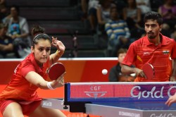 Cwg 2018 Tt Manika Sathiyan Claim Mixed Doubles Bronze Sharath Settles For Bronze Singles
