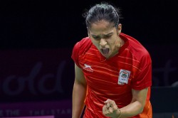 Cwg 2018 Aggressive Saina Clinches Women S Singles Gold Sindhu Settles For Silver
