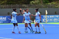Indian Women Ready Korean Challenge
