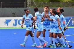 Asian Champions Trophy Indian Women S Hockey Team Holds Korea